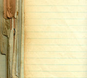 Papel viejo del grunge con las líneas Foto de archivo libre de regalías