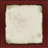 Papel viejo enmarcado Imágenes de archivo libres de regalías
