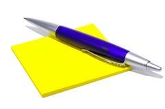 Papel y pluma fotografía de archivo libre de regalías