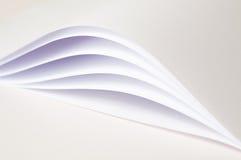 Papeles abstractos Fotografía de archivo