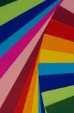 Papeles coloridos Imagenes de archivo