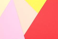 Papeles coloridos como fondo Imagenes de archivo