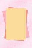 Papeles con el fondo Imagen de archivo libre de regalías