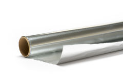 Papeles de aluminio Imagen de archivo libre de regalías