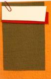 Papeles de nota del color imagen de archivo libre de regalías