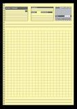 Papeles de nota para su organización Imagen de archivo libre de regalías
