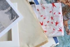 Papeles del collage Imagen de archivo libre de regalías