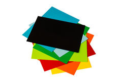 Papeles para la papiroflexia Fotos de archivo