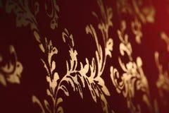 Papeles pintados viejos del damasco imagen de archivo libre de regalías