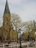 papenburg城市在德国 图库摄影