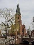 papenburg城市在德国 免版税图库摄影