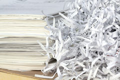 paper återanvändning Arkivbild