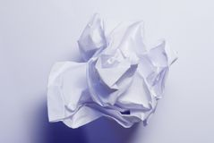 Paper. Crumpled Paper Royalty Free Stock Images