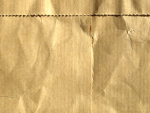 Paper. Blank sheet of brown paper Stock Photos