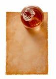 Paper-17 velho Fotografia de Stock Royalty Free