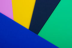 Paper. S : pink yellow dark green and blue royalty free stock photos