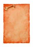 Paper-24 velho Imagem de Stock Royalty Free