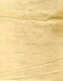 Paper. Sheet of the old paper. The picture is convenient for drawing on it of the text or images Royalty Free Stock Photography