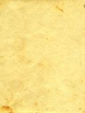 Paper. Sheet of the old paper which has turned yellow from time. The picture is convenient for drawing on it of the text or images Stock Photos