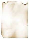 Paper. Sheet of the old paper. The picture is convenient for drawing on it of the text or images Royalty Free Stock Image