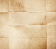 Paper. Old folded paper texture background Royalty Free Stock Photo