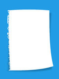 Paper. Note paper on colouful background Royalty Free Stock Photos