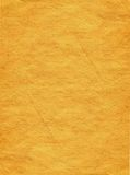 Paper 9. Sheet of the old paper which has turned yellow from time. The picture is convenient for drawing on it of the text or images Royalty Free Stock Photo