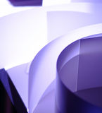 Paper. Lighting according to the paper in the desk Royalty Free Stock Images