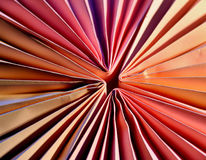 Paper abstract. Decorative aper form in a bright pastel pink tones Royalty Free Stock Photos