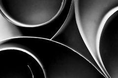Paper abstract. With an elegant rounded forms makes an interesting background Royalty Free Stock Images