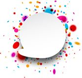 Abstract replica background. Paper abstract replica background with color drops. Vector illustration vector illustration