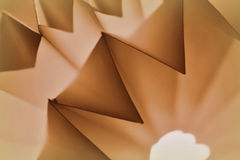 Paper abstract in sepia tone Royalty Free Stock Photo