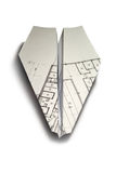 Paper airplane Royalty Free Stock Image