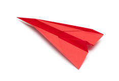 Paper airplane Stock Photo