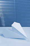 Paper airplane Royalty Free Stock Images