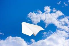 Paper airplane Stock Photos