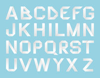 Paper Alphabet Stock Image