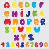 Paper alphabet Stock Photo