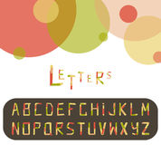 Paper alphabet Royalty Free Stock Photo