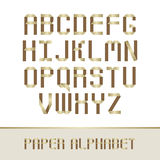 Paper Alphabet Royalty Free Stock Images