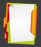 Paper And Folders Royalty Free Stock Photos