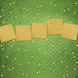 Paper for announcement Royalty Free Stock Photos