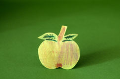 Paper  apple Royalty Free Stock Photography