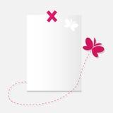paper ark för fjäril Fotografering för Bildbyråer