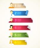 paper arksymboler för avatar Royaltyfria Foton