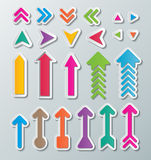 Paper arrows Royalty Free Stock Photo