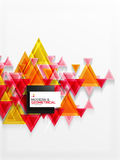 Paper art style triangle pattern texture, abstract background Royalty Free Stock Image