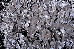 Paper ash. Texture macro photo Royalty Free Stock Photos