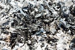 Paper ash Royalty Free Stock Images