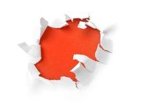 paper avslöjande Fotografering för Bildbyråer